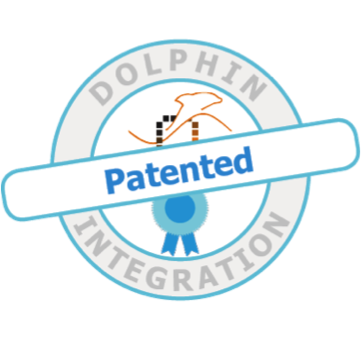 Logo Dolphin Integration patented