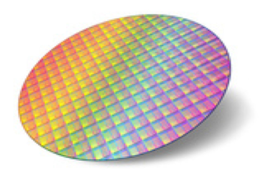 Image of a wafer
