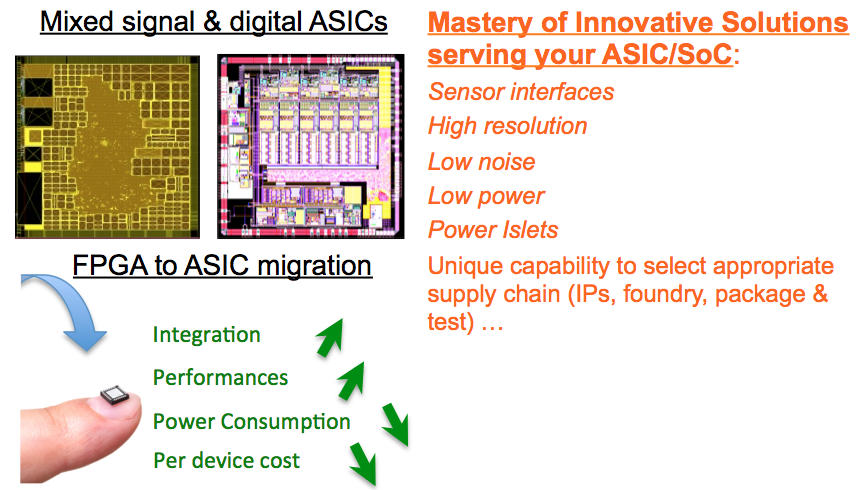 Solutions for ASIC / SoC